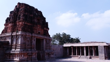 The Mandapas (Entrances)