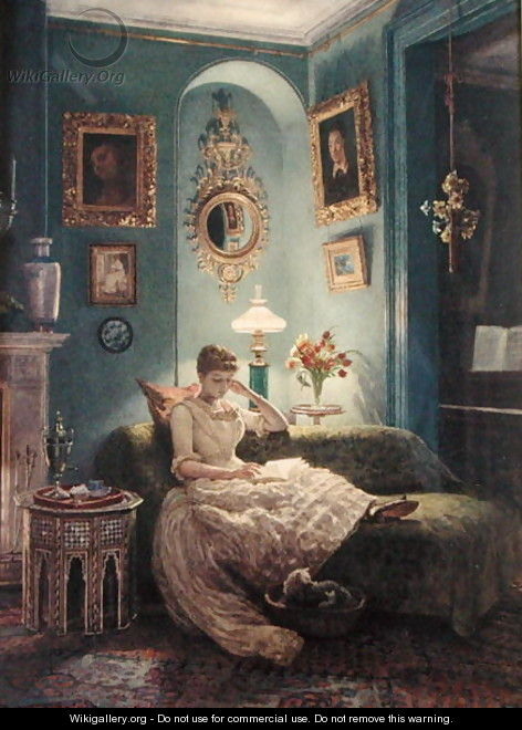 Poynter_An-Evening-at-Home-1888